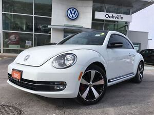 2015 Volkswagen Beetle Coupe SL/MANUAL/LTHR/NAV/1 OWNER!