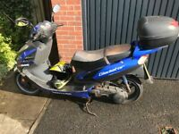 Lexmoto gladiator spares and repairs SOLD