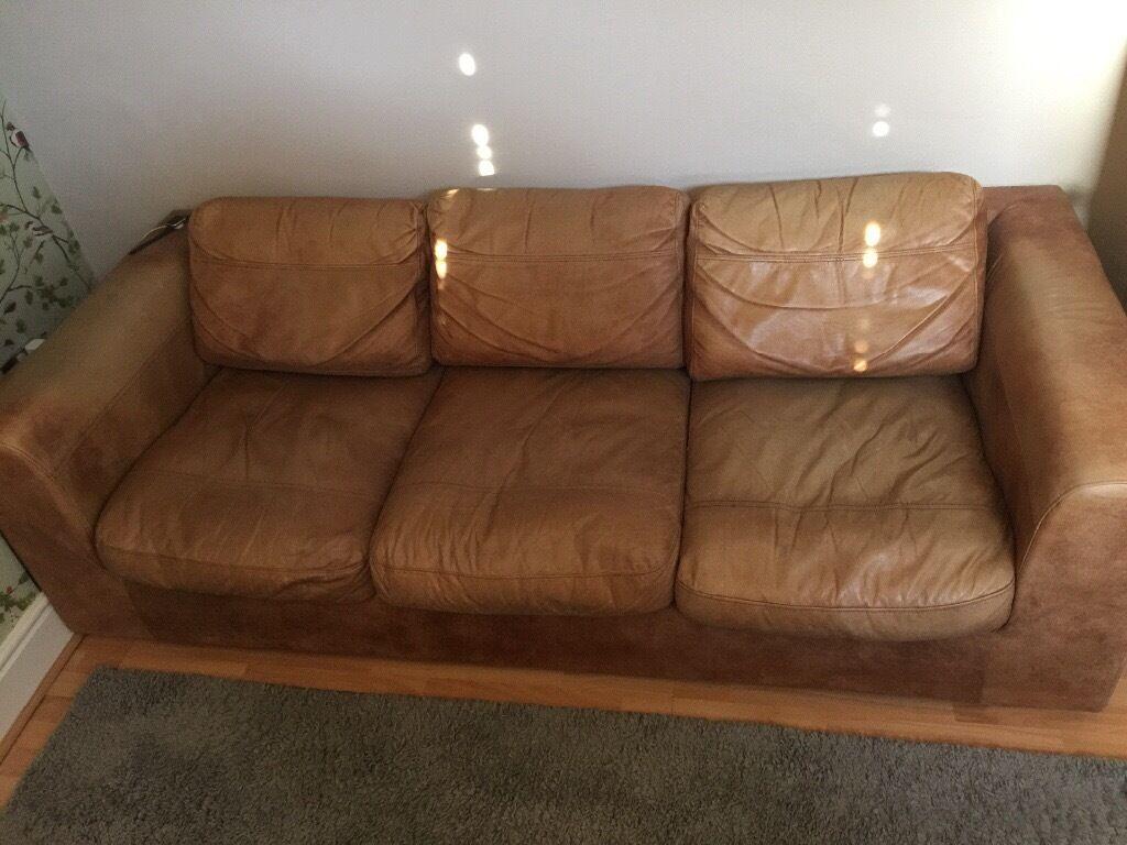 Debenhams Paris Leather Oversized Sofa Rrp 2400 100 Or Best Offers