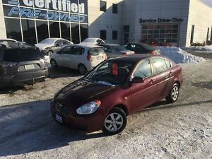 2010 Hyundai Accent GL A/C POWER GROUP 5SPEED