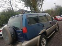 1999 Nissan terrano mk2 2.7 Tdi automatic leather breaking