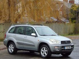 2002 LHD.. LEFT HAND DRIVE.. TOYOTA RAV4 2.0 VVTi AUTOMATIC 4WD.. **1 OWNER + LOW MILES**