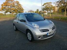 Nissan Micra 1.2 petrol in good running order with long MOT