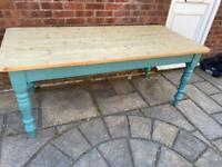 Jacobs market Solid pine table