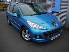 PEUGEOT 207 1.6 SW ALLURE 5d AUTO **GENUINE LOW MILES** (blue) 2012