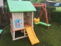 Smoby tree house play house swing and slide