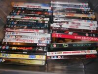 Selection of DVDs - Films