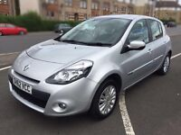 Renault Clio 2012, 1.2 Litre petrol, 20k miles, silver, MOTed 30/10/16, Alloys , not fiesta Focus
