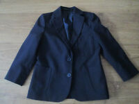 LOVELY GIRLS/BOYS NAVY BLUE BLAZER - AGE 6 YEARS - FROM M&S - EXC. COND.