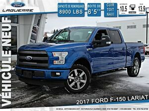 2017 Ford F-150 LARIAT*SEULEMENT 163$/SEMAINE*