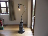STEAMPUNK LAMP STARDARD LAMP HAND MADE IN ENGLAND A ONE OF A KIND STATEMENT PIECE £450