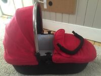 Icandy Strawberry carrycot/raincover