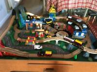 Universe of Imagination Toy train table