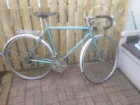 HISTORIC ROAD/TOURING BIKE FOR SALE.VERY COLLECTABLE.