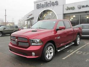 2014 Ram 1500 Sport | LEATHER HEATED/VENTED SEATS | BACK UP CAM