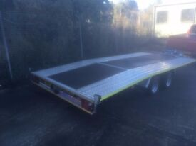 Boro Juniper Car Transporter Twin Axle Trailer - Eight Months old - Excellent Condition