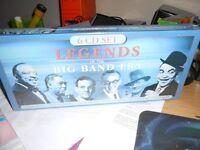 6 CD SET UNOPENED BIG BAND ERA