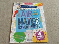 Super Science Air and Water Experiments by Miles Kelly great book New