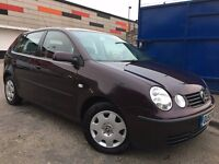 Vw Polo 1.4 Manual Full Service History 3 Months Warranty, Excellent Condition, Low Insurance