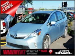 2014 Toyota Prius v Gr LUXE CUIR GPS SIÈGES CHAUFFANT