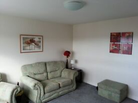 One bedroom flat Tower block Calside area overlooking R.A.H. Concierge and security entrance