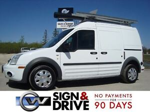 2012 Ford Transit Connect XLT w/o Rear Door Glass *Rack & Shelvi