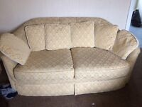 Thee and Two seater Sofas