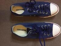 Adults converse shoes size 10 new
