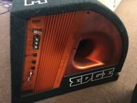Edge 900 watts subwoofer built in amp