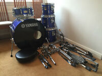 Yamaha Stage Custom Advantage Drum Kit with Sabian Cymbals