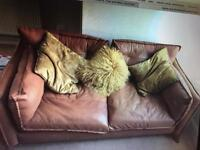 Barker and stone house leather sofa