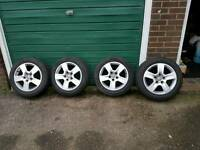 Audi vw alloy wheels 5x112