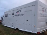 Mercedes Atego 7.5T Race Truck Motorhome c/w 7m x 6m GH Awning.Used in British Superbikes last 4yrs