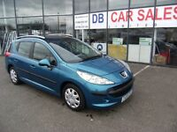 2008 08 PEUGEOT 207 1.4 SW S 5D 94 BHP **** GUARANTEED FINANCE **** PART EX WELCOME