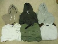 Mens Lot Bundle Of Clothes NEW LARGE - Hoodie, Sweatshirt, T-shirt - Criminal Damage, Asos, New Look