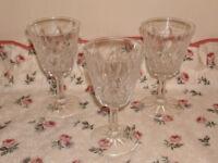 Reims port/sherry glass set.