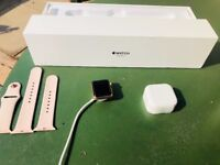 Apple iwatch 38mm boxed 6 months old 3 series