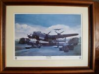 *AVRO LANCASTER ~ NAAFI BREAK* Limited Edition Framed Print