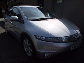 Honda Civic 1.8 I-VTEC EX ONLY 42741 MILES,12 MONTHS MOT, SERVICED,3 MONTHS WARRANTY & AA COVER INCL