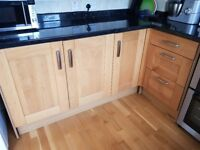 Kitchen Cabinets with Oak Doors