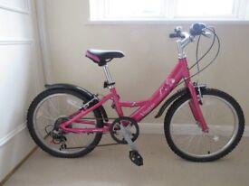 Girls Dawes 12 inch frame bicycle