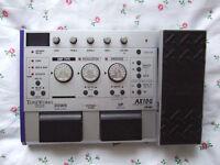 Korg AX10G Toneworks Electric Guitar Multi-Effects Pedal ( Distortion Chorus Delay etc)
