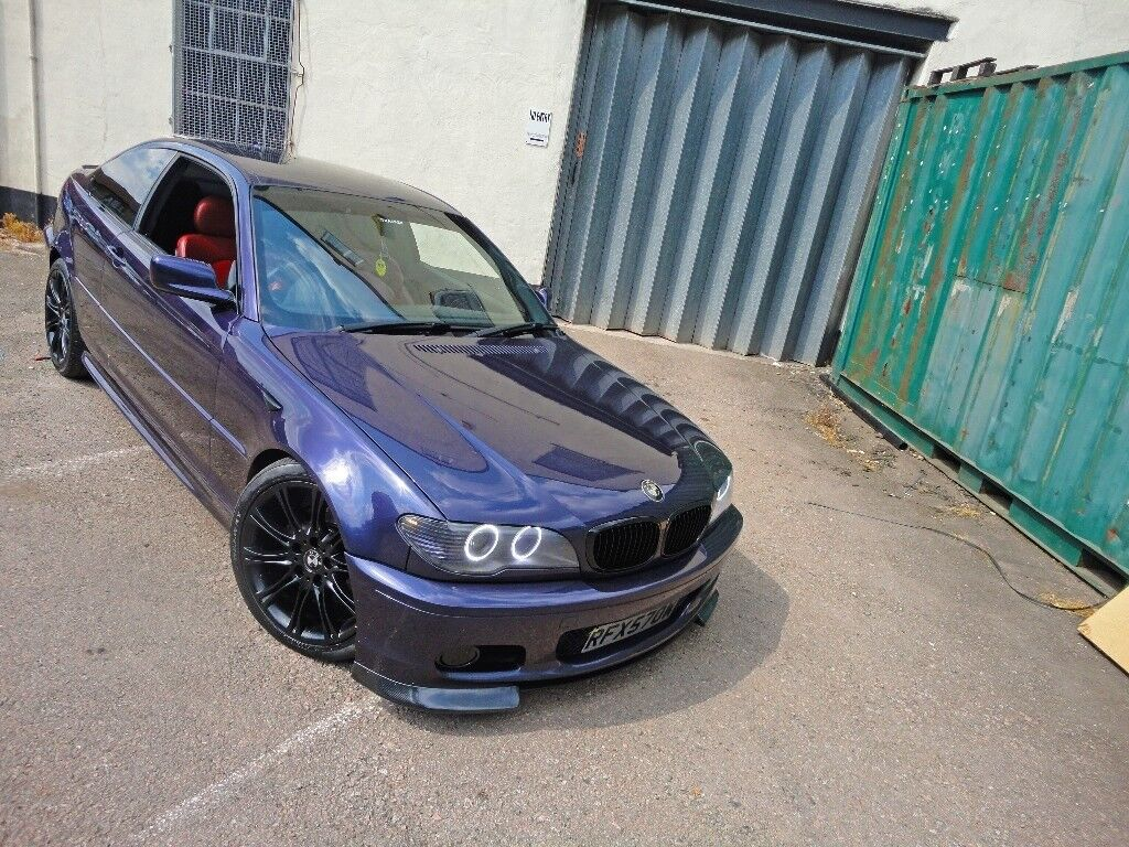 Bmw Individual M Sport 3 Series E46 320cd In Techno Violet With Red M3 Interior In Walthamstow London Gumtree