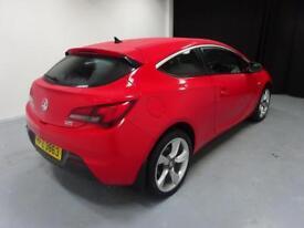 Vauxhall Astra GTC SRI CDTI S/S (red) 2014-01-24