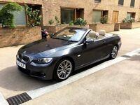 BMW 330i M Sport Convertible   Front Sensors   Sat Nav   Rear Sensors   Beige Leather   Leather