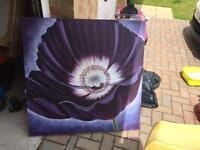Large canvas.