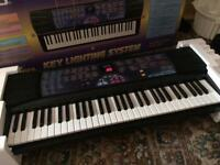 CASIO 100 Song Bank Keyboard CTK-560L Key Lighting System