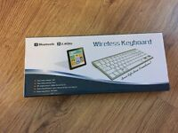 Wireless Bluetooth keyboard for iPhone apple devices as well as pc
