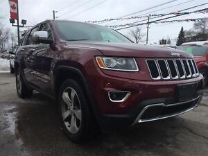 2016 Jeep Grand Cherokee MANAGER DEMO LIMITED