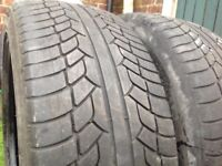 Two Tyres 20 inch They are like new 275/35/20, AND TWO Tyres 20 inch They are like new 255/45/20